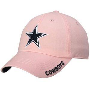 Dallas Cowboys Pink Slouch Cap